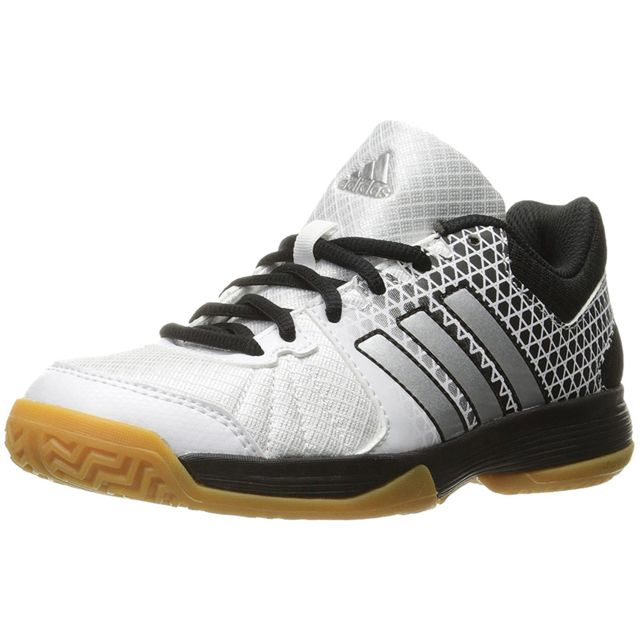 adidas Ligra 4 - Chaussures de Volley-Ball pour Homme, Blanc, Taille: 42 2/3