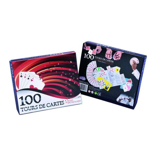 Imagin Coffret de magie - 100 Tours de cartes