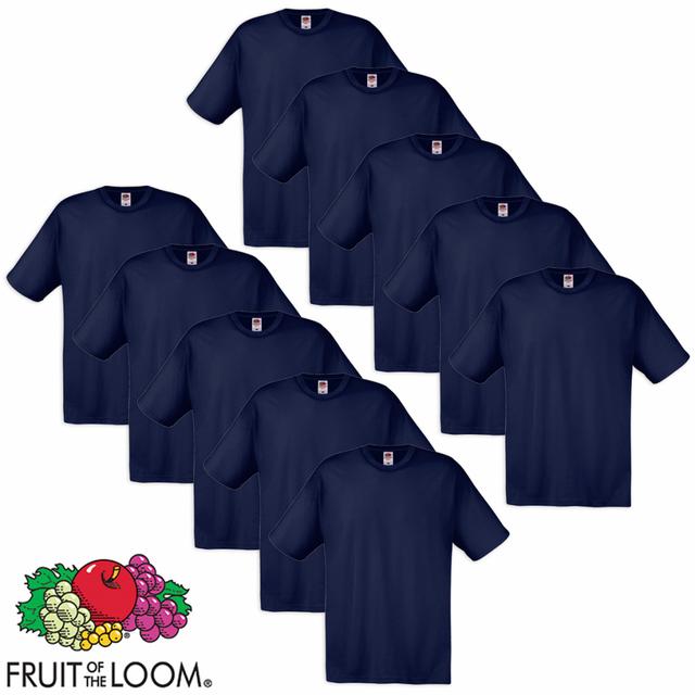 Fruit Of The Loom - 10 t-shirts originaux