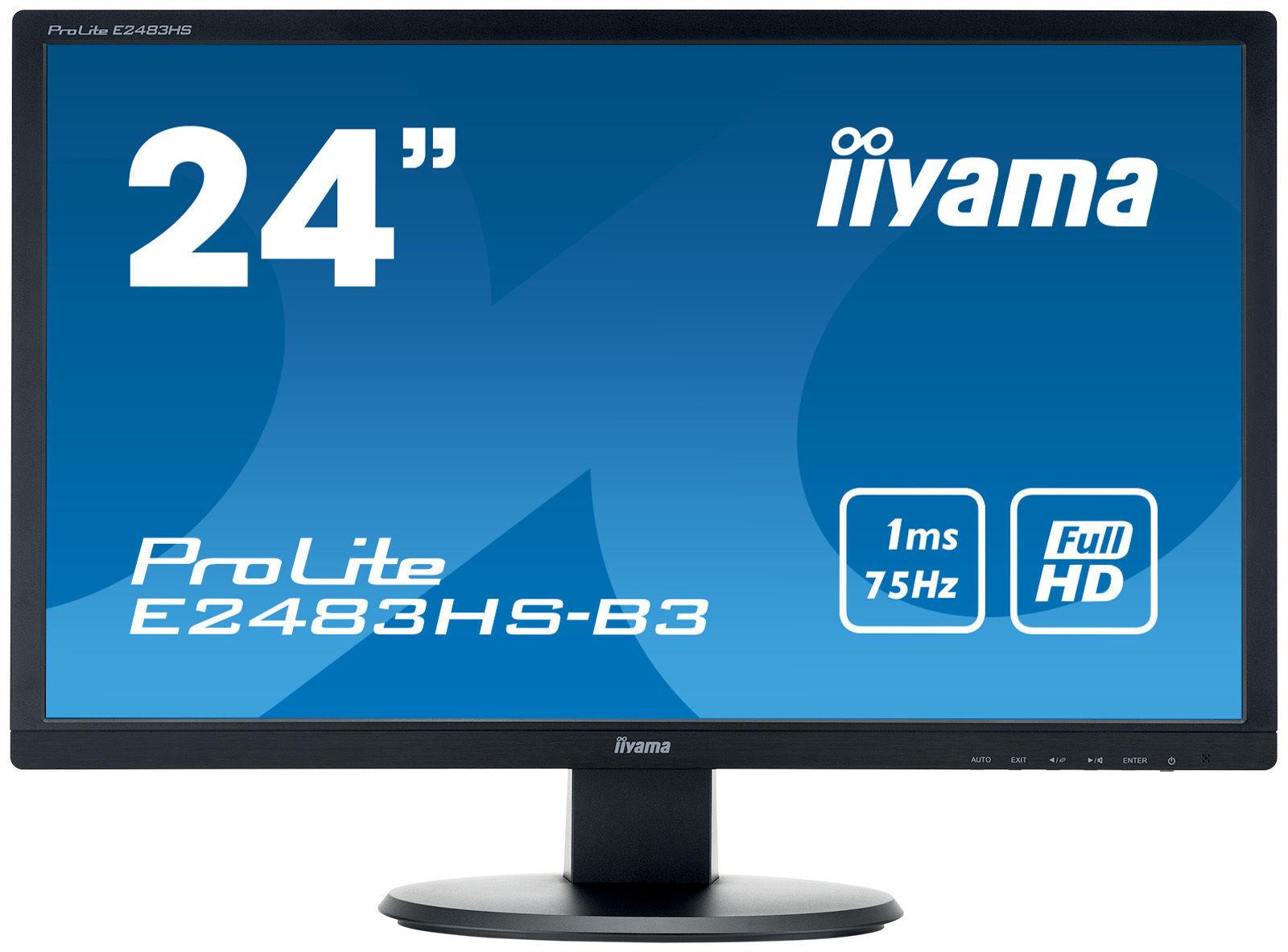 """E2483HS-B3 24"""" 1ms Full HD"""