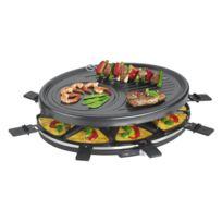 Clatronic - Raclette pour 8 personnes 1400W Rg 3517 noir