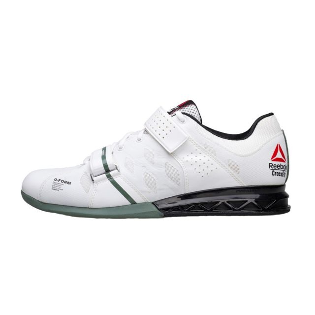 a3ed7f357de Reebok - Crossfit Lifter Plus 20 Blanc - 44 1 2 - pas cher Achat   Vente  Chaussures fitness - RueDuCommerce