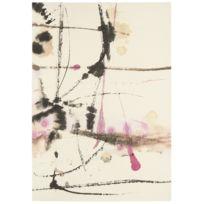 BRINK & CAMPMAN - Tapis KALEIDOSCOPE SHIMI blanc Tapis Moderne 200 x 280 cm blanc 200 x 280 cm