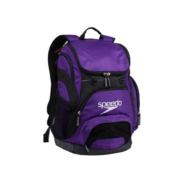 Speedo - Sac de natation Teamster Backpack 35L violet - pas cher Achat   Vente  Sacs de piscine - RueDuCommerce 91f97460a124