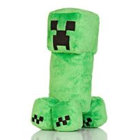 J!Nx - Minecraft Creeper 14 Plush Toy with Sound