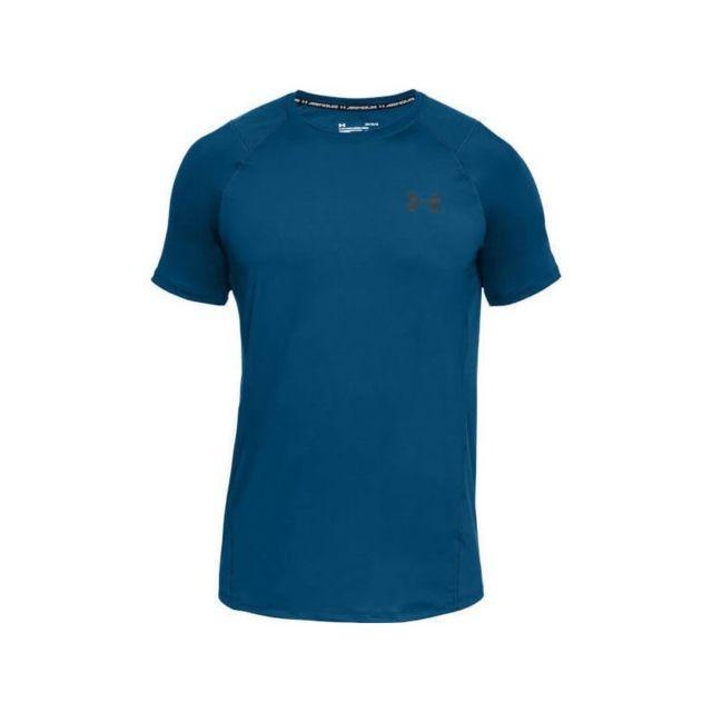 58e77f4e2d02b3 Under Armour - T-shirt Mk1 Raid 2.0 Bleu pour homme Taille - Xl ...