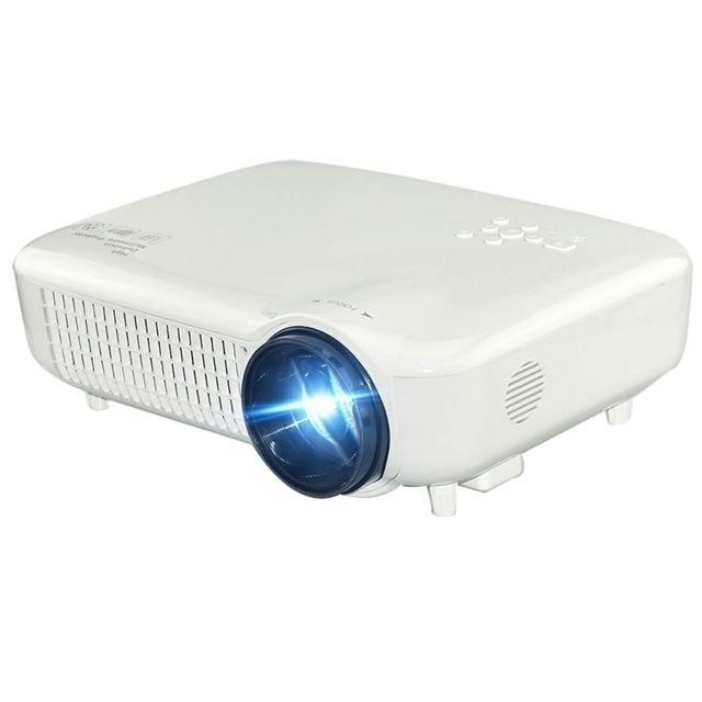 Yonis Vidéoprojecteur Hd 3500 Lumens Home Cinéma 1080p Lcd Led Hdmi Usb Vga
