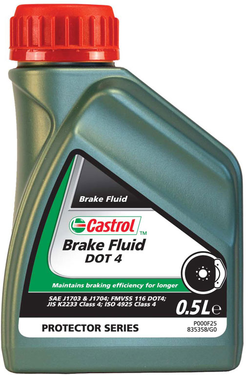 Liquide de freins Brake fluid DOT 4 0,5L