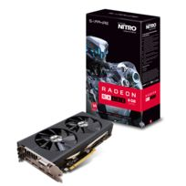 Carte Graphique - NITRO RADEON RX 480 8G PCI-E LITE - Reconditionné