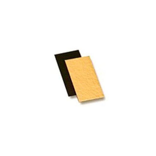 Guery Plaque cartonné or/noir 15 x 20 cm