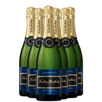 Champagne Nicolas Feuillatte - Brut Reserve Lot de 6 bouteilles