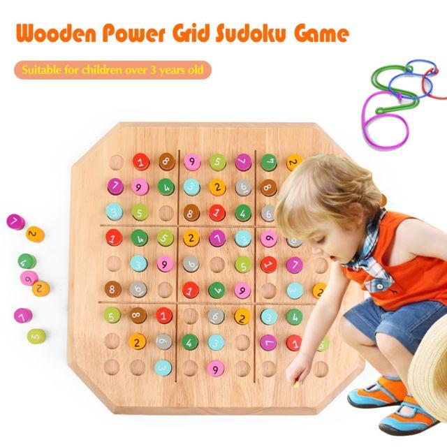 Generic Jouet pour enfants Puzzle Blocs de bois Pensée logique Jeu d'intelligence pour adultes