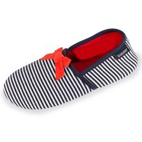 Isotoner - Chaussons charentaises femme rayures