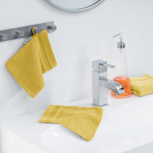douceur d 39 interieur cdaffaires 2 gants de toilette 15 x. Black Bedroom Furniture Sets. Home Design Ideas