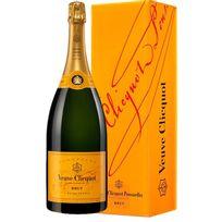 Champagne Veuve Clicquot - Brut Carte Jaune Magnum avec etui