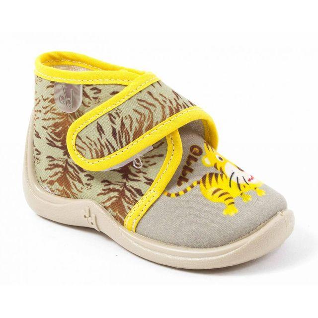 8e39fcb13a15ab Babybotte - Chaussons garçon bébé Manitou beige - pas cher Achat   Vente  Chaussures, chaussons - RueDuCommerce