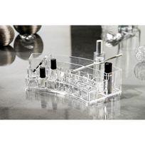 Compactor Home - Organisateur multi cosmétiques en acrylique arrondi 28x12x6.5cm Organizer