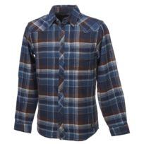 Blend - Chemise manches longues Karlo navy ml shirt Bleu 59107