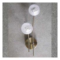 Millumine - Applique marine Groovy laiton antique 2 lampes