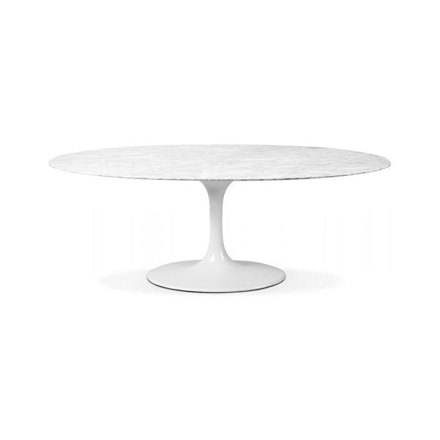 Privatefloor Table tulipe Eero Saarinen marbre