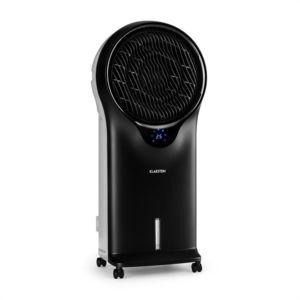 klarstein 3 en 1 ventilateur rafra chisseur humidificateur d 39 air noir pas cher achat. Black Bedroom Furniture Sets. Home Design Ideas