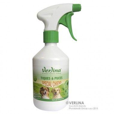Verlina Insecticide d'environnement tiques & puces du chien