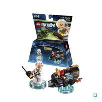 Warner Games - Figurine Lego Dimensions - Doc Brown - Retour vers le Futur