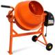 Vidaxl - Bétonnière électrique en acier orange 63 L 220 W