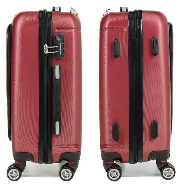 Compagnie Du Bagage - Valise cabine Business de luxe rouge