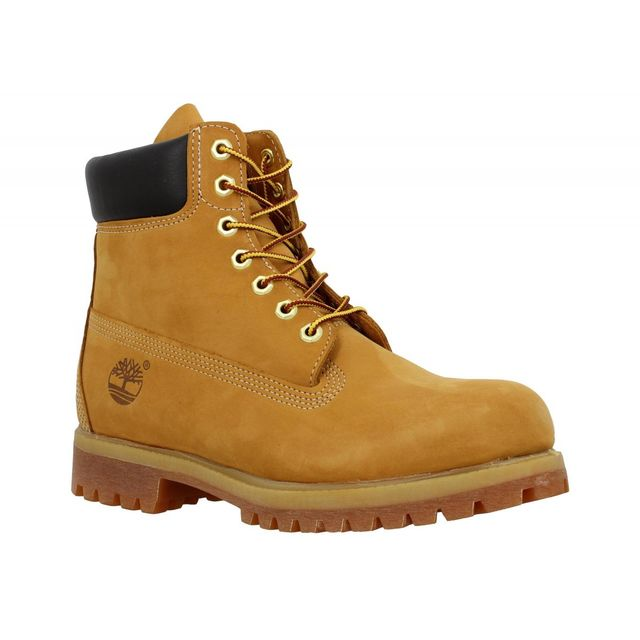 Timberland - 10068 velours Homme-42-Ocre