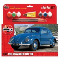 Airfix - Maquette voiture : Vw Beetle : Starter Set : 1:32