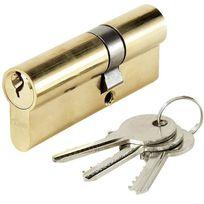 Abus - Cylindre de porte E5 30 x 50 mm 3 clés Canon double entrée barillet anti crochetage