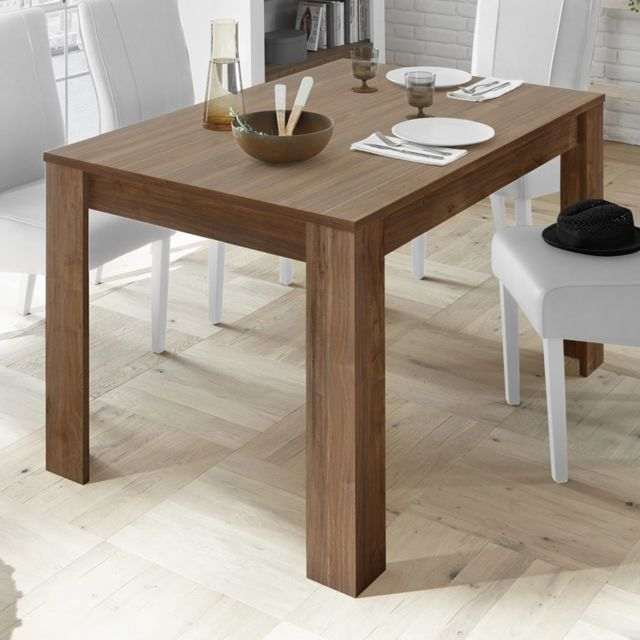 Sofamobili Table a manger 180 contemporaine couleur noyer Serena 4