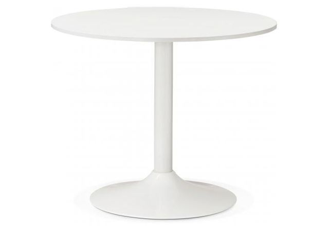 Kokoon Design Table Ronde Bois Blanche D90 Albury