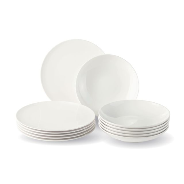 VIVO - VILLEROY & BOCH GROUP Set de 12 assiettes New Fresh Basic