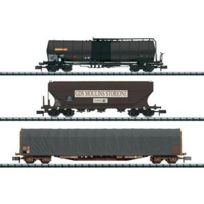Minitrix - T15448 Set De 3 Wagons De Marchandises De La Sncf, N