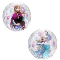 Amscan - Ballon Transparent Frozen - La Reine Des Neiges