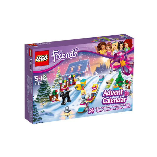 Calendrier De L Avent Lego Star Wars Carrefour.Le Calendrier De L Avent Friends 41326
