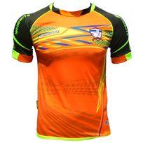 No Brand - Maillot Football Thailande pattaya phucket patang racing orange fluo-thailande, maillot, orange, fluo, thai, pattaya, phuket