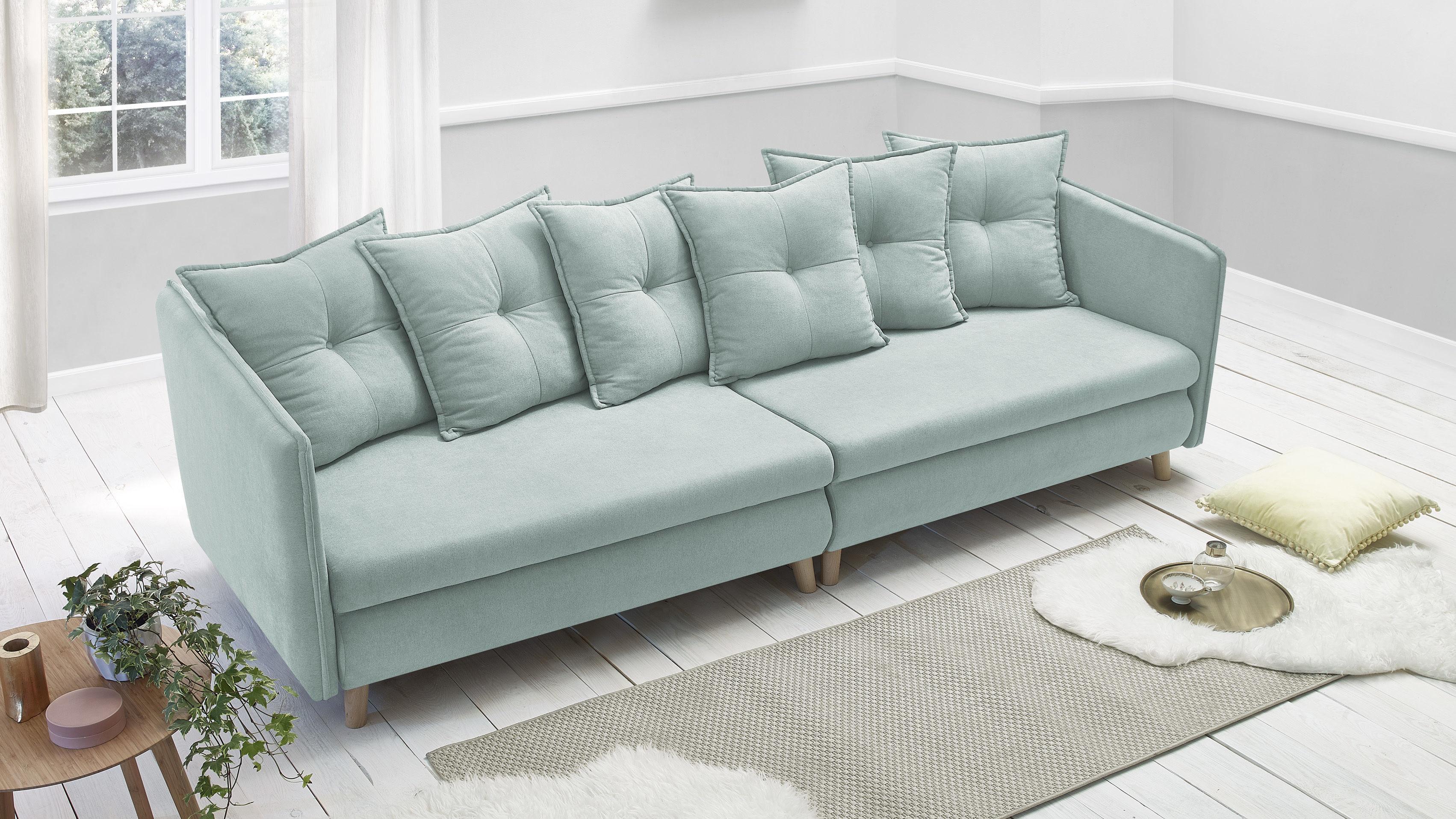 bobochic canap opti sofa 4 places convertible bleu poudr 103cm x 77cm x 264cm achat. Black Bedroom Furniture Sets. Home Design Ideas