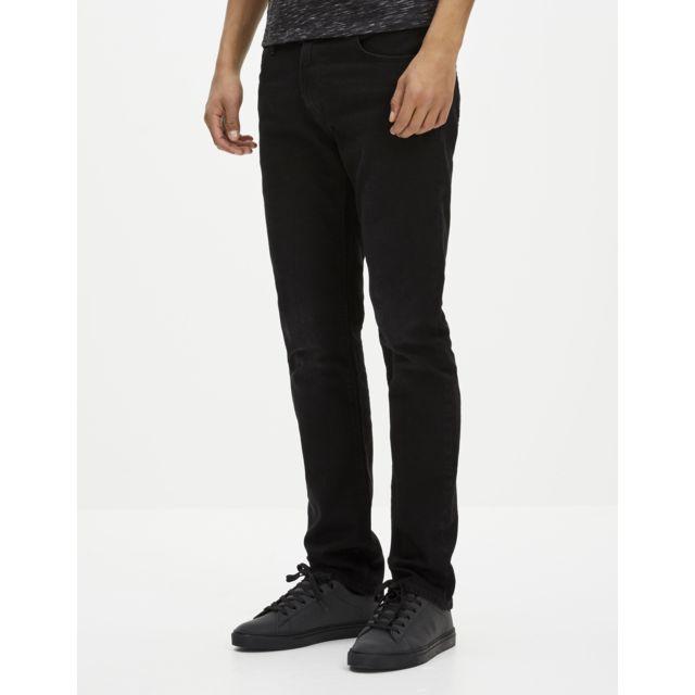 CELIO Jean Fonero15 - 5 poches coupe droite - Noir