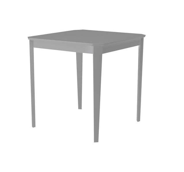 Lebrun Table 75 X 75 cm grise Bristol