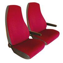 Bancarel - Housses jersey sièges avant rouges