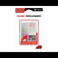 SUBSONIC - Boitier de rangement transparent pour cartouches et cartes SD Nintendo Switch - 16 emplacements