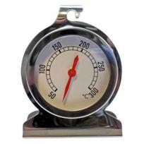 C. Diffusion - Thermomètre Four cadran inox 50 à 300°C