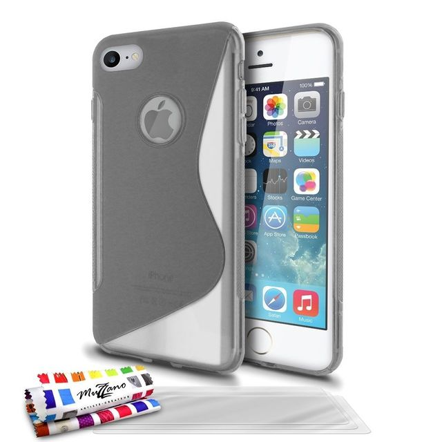 coque ultra slim iphone 7 gris