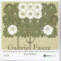Erato - Gabriel Fauré - Musique pour piano, Musique de chambre, Intégrale Coffret