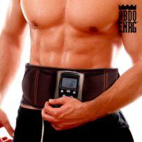 Totalcadeau - Électrostimulateur Abdo avec télécommande - Appareil de Musculation Abdominale Electrique Ceinture Abdominale de Fitness