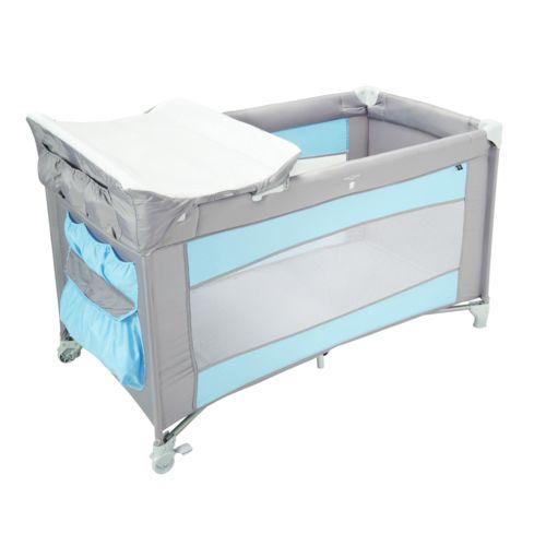 tex baby lit parapluie b b tex gris bleu pas cher achat vente lit parapluie rueducommerce. Black Bedroom Furniture Sets. Home Design Ideas