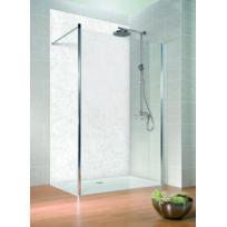 SCHULTE - Panneau mural de douche, 100 x 210 cm, panneau de revêtement pour salle de bains, décodesign décor marbre